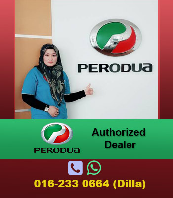 Perodua Authorized Dealer - Dilla