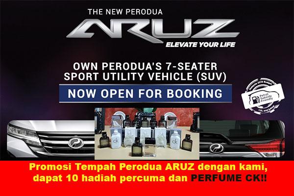 Harga Perodua ARUZ 2019 - FREE GIFT | Perodua Authorized Dealer KL